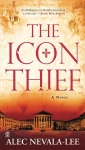 The front cover of The IconThief