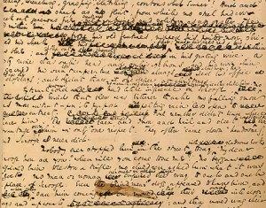 Charles Dickens's manuscript for A Christmas Carol