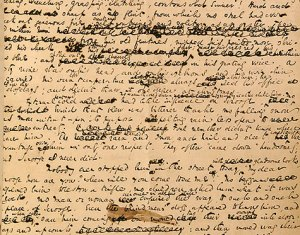 Charles Dickens's manuscript for A Christmas Carol