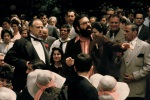 Marlon Brando and Francis Ford Coppola on the set of TheGodfather