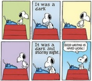 Good writing is hard work, part 3