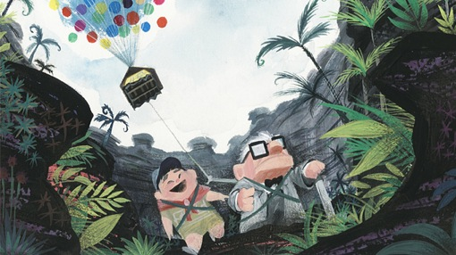 Concept art from Up