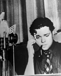 Orson Welles at age 24