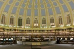 The reading room of the BritishMuseum