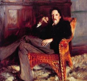 Portrait of Robert Louis Stevenson by John Singer Sargent
