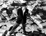 Orson Welles in CitizenKane