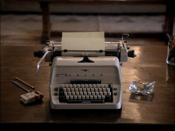 Not the author's typewriter
