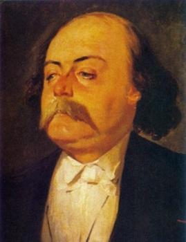 Portrait of Gustave Flaubert by Eugène Giraud