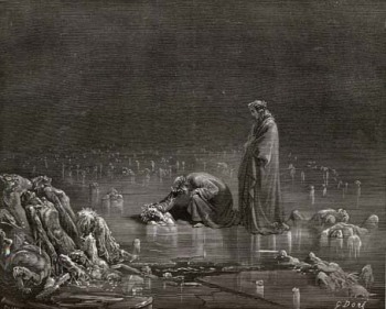 Illustration by Gustave Doré for Dante's Inferno