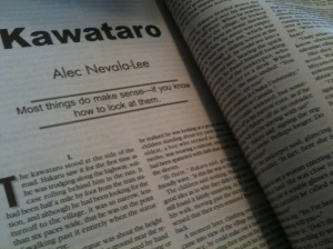 """Kawataro"" in Analog Science Fiction and Fact (June 2011)"