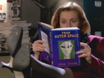 "Gillian Anderson in ""Jose Chung's From Outer Space"""