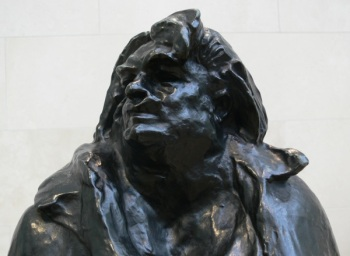 Statue of Honoré de Balzac by Auguste Rodin