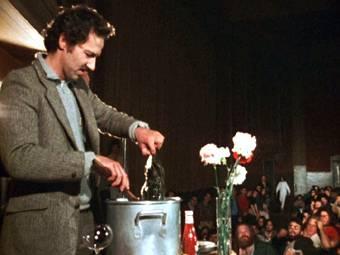 Werner Herzog Eats His Shoe