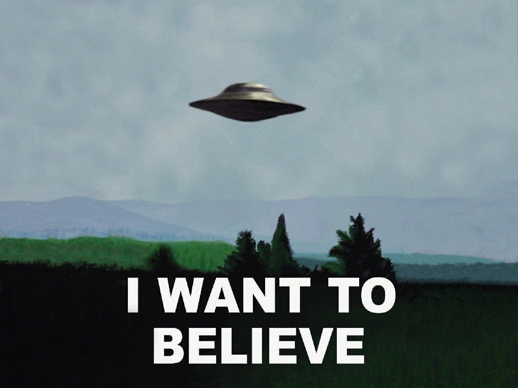 So what is science fiction    187  I Want to BelieveX Files Wallpaper I Want To Believe