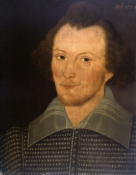 The Sanders portrait of William Shakespeare