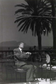 Portrait of Jorge Luis Borges by Ferdinando Scianna