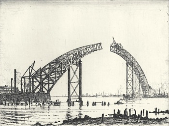 The Unfinished Span by Otto August Kuhler