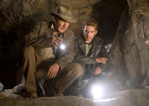 Harrison Ford and Shia LaBeouf in Indiana Jones and the Kingdom of the Crystal Skull