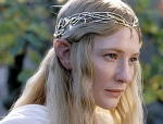 Cate Blanchett as Galadriel in The Lord of theRings