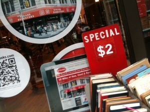 The dollar bin at the Strand Bookstore