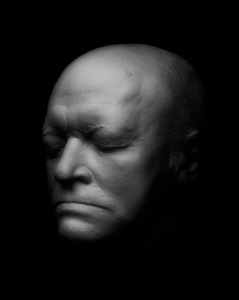 Death mask of William Blake