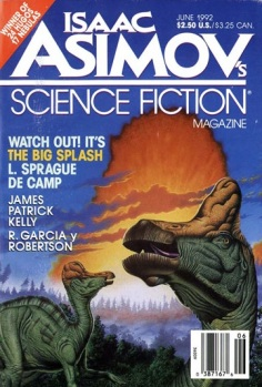 The June 1992 issue of Asimov's Science Fiction Magazine