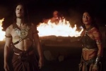 Taylor Kitsch and Lynn Collins in JohnCarter