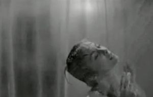 The shower scene in Psycho