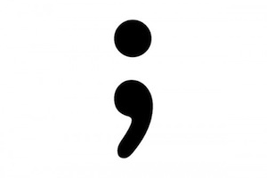The hated semicolon