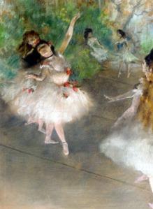 """Les Petits Rats"" by Edgar Degas"