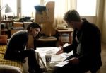 Rooney Mara and Daniel Craig in The Girl With the DragonTattoo