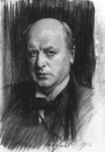 Portrait of Henry James by John Singer Sargent