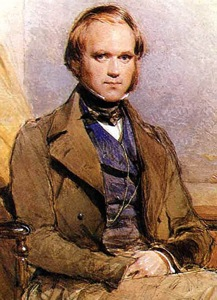 Portrait of Charles Darwin by George Richmond