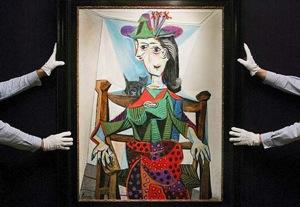 Picasso's Dora Maar Au Chat