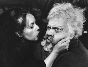 Jeanne Moreau and Orson Welles in Chimes at Midnight
