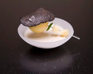 Hot Potato, Cold Potato at Alinea
