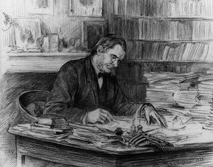 Thomas Henry Huxley by Theodore Blake Wirgman