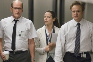 Richard Jenkins, Amy Acker, and Bradley Whitford in The Cabin in the Woods