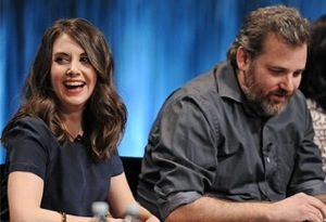 Dan Harmon and Alison Brie