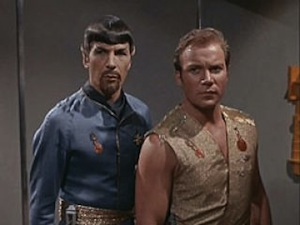 "The Star Trek episode ""Mirror Mirror"""