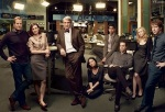 The cast of TheNewsroom