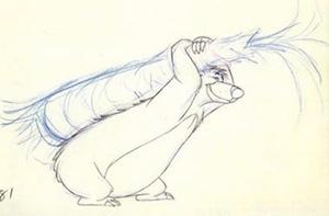 Sketch by Ollie Johnston