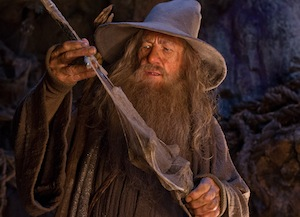 Ian McKellen in The Hobbit: An Unexpected Journey