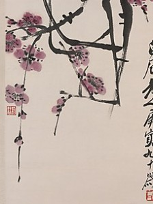 Plum Blossoms by Qi Baishi