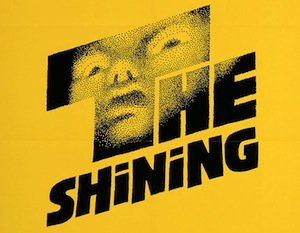 Saul Bass artwork for The Shining