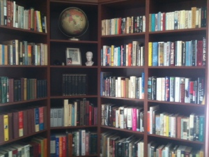 The author's library