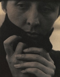 Portrait of Georgia O'Keeffe by Alfred Stieglitz