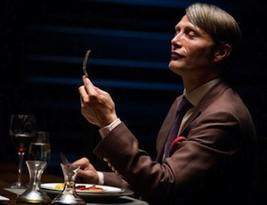 Mads Mikkelsen on Hannibal