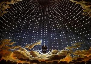 The Queen of the Night by Karl Friedrich Schinkel