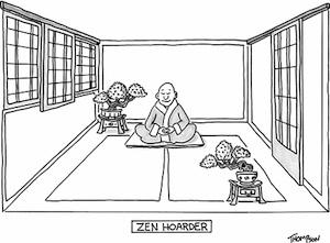 Zen Hoarder by Mark Thompson